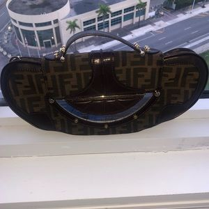 100% Authentic Fendi Zucca Vanity bag